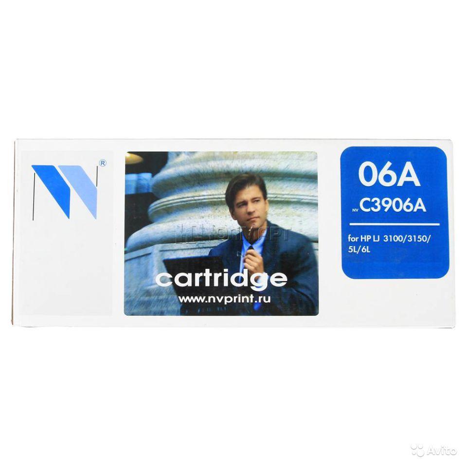 Картридж NV print С3906А - купить в интернет магазине с доставкой, цены, описание, характеристики, отзывы