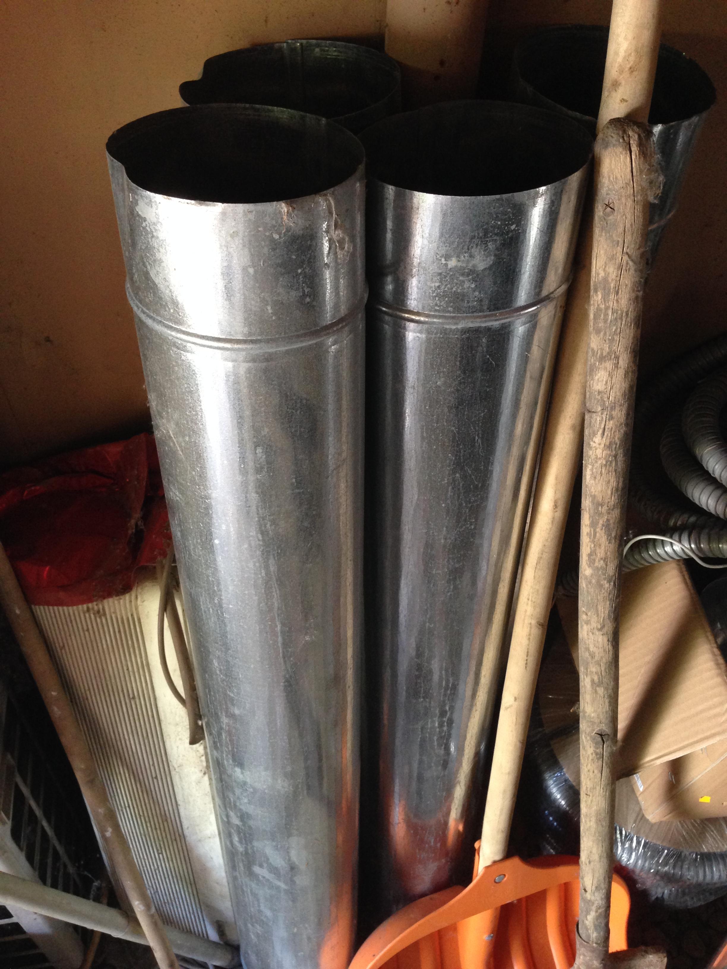 Вентиляционные трубы 160мм (оцинковка) - купить в интернет магазине с доставкой, цены, описание, характеристики, отзывы