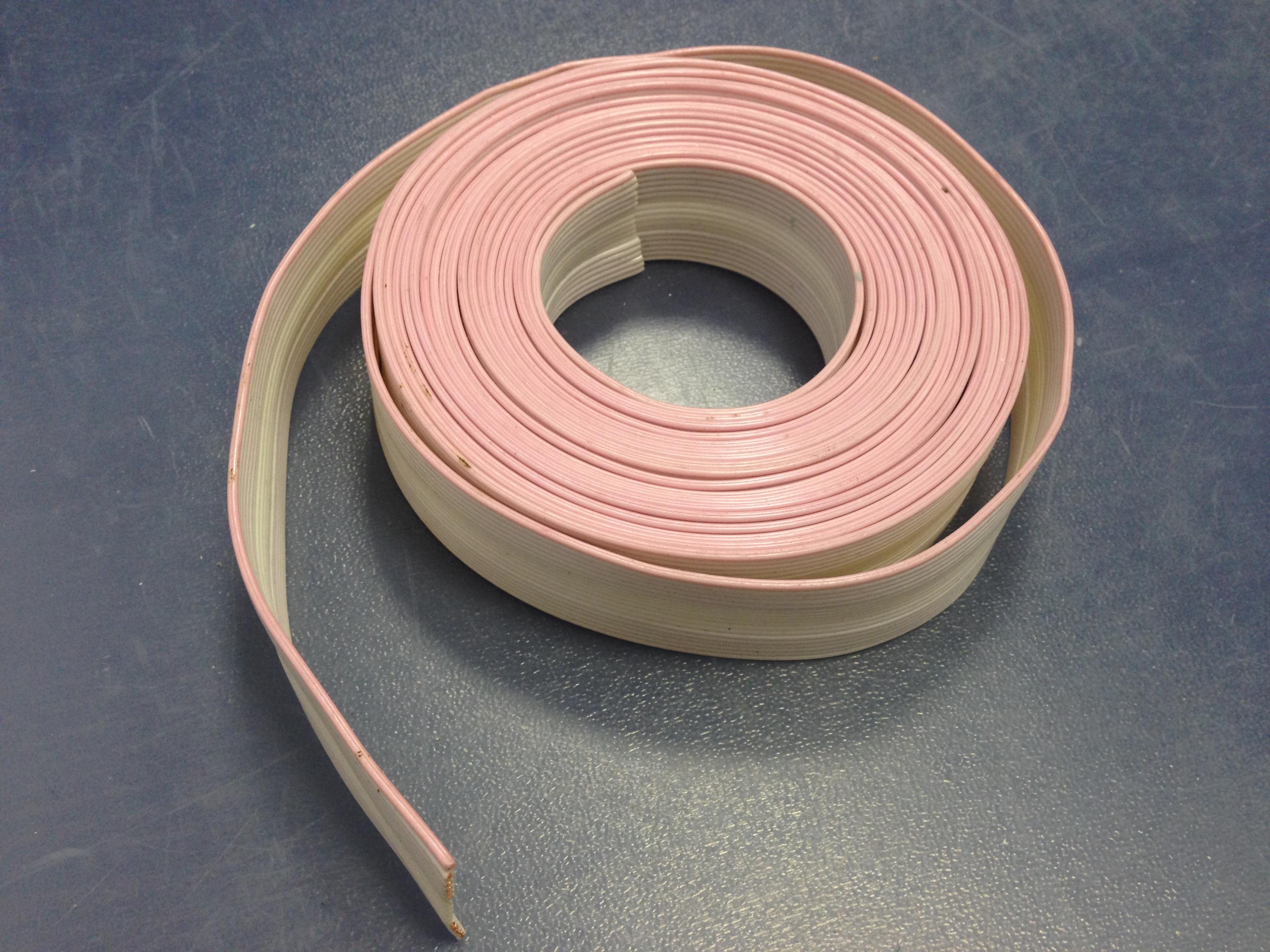 Шлейф 12 проводников шаг 1.0 мм медь 8-10 метров - купить в интернет магазине с доставкой, цены, описание, характеристики, отзывы