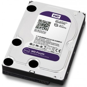 HDD 4000 GB (4 TB) SATA-III Purple (WD40PURX)
