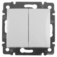 774405 Legrand Valena выключатель двухклавишный - купить в интернет магазине с доставкой, цены, описание, характеристики, отзывы